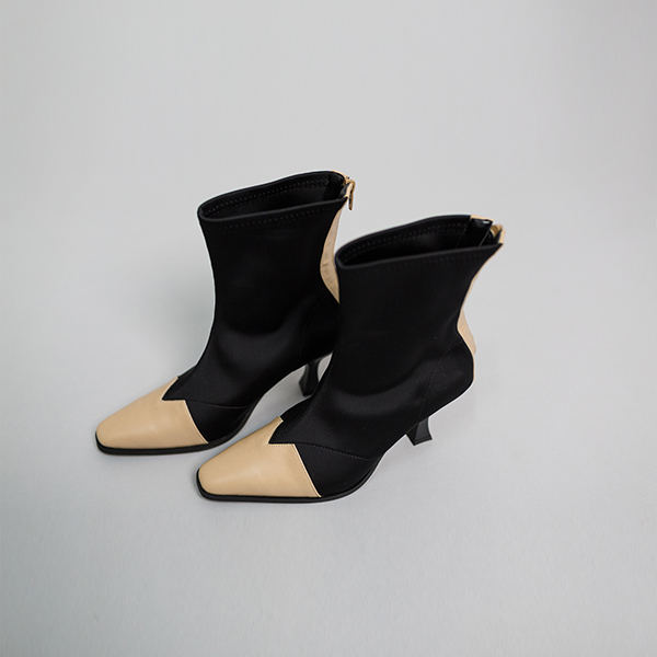 (SH-2512)混色面短鞋