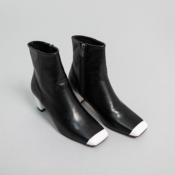 (SH-2513)白色关键点短靴