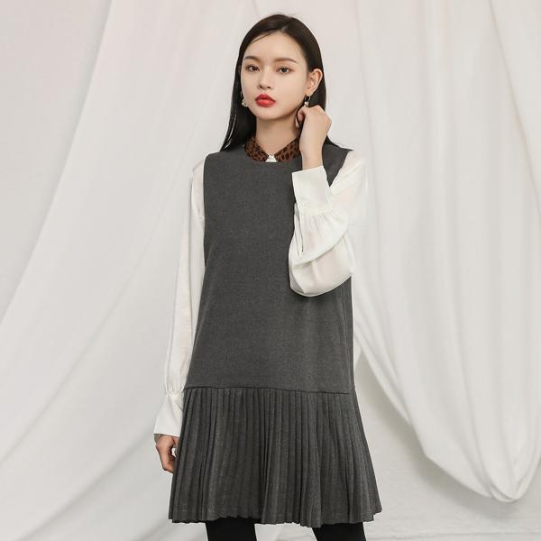 (BL-3154)豹纹印花关键点女衬衫