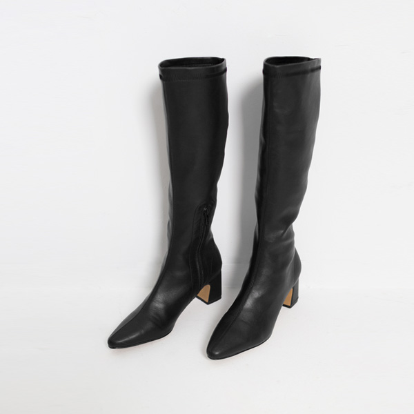 (SH-2527)弹力高级皮靴