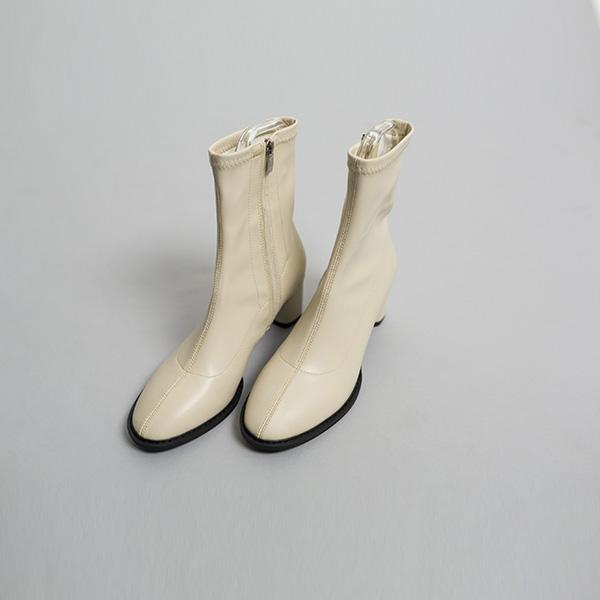 (SH-2530)圆领CO弹力拉链及踝鞋