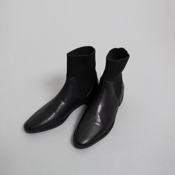 (SH-2534)肩织靴组合踝鞋
