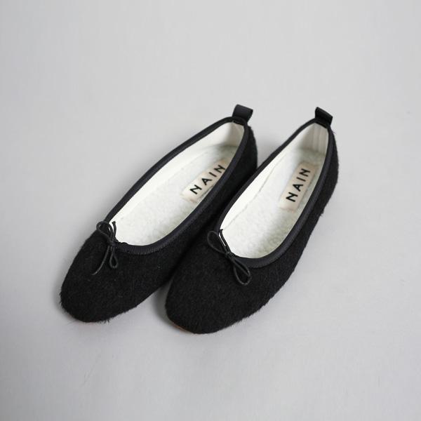 (SH-2517)芭蕾舞鞋圆领蝶蝶结穿平底鞋