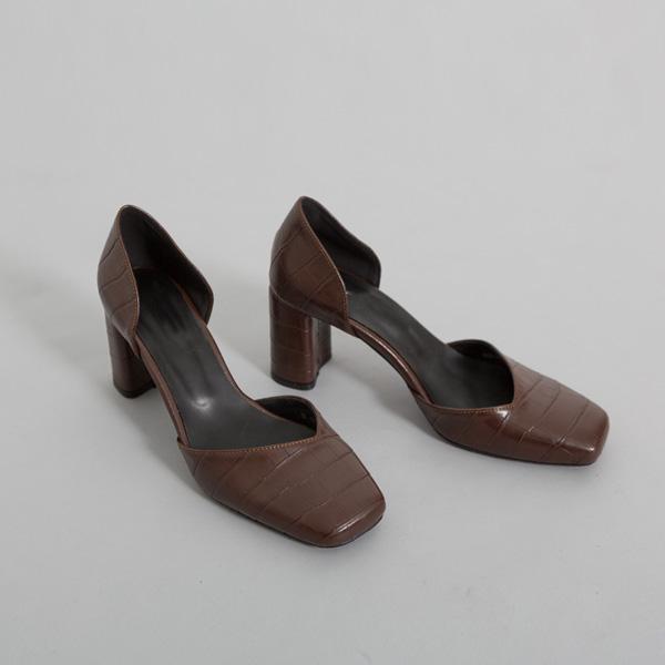(SH-2592)Crocodile浅口表情鞋