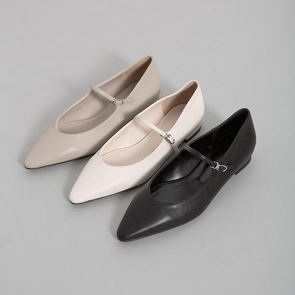 (SH-2591)Stiletto Mary Jane平底鞋