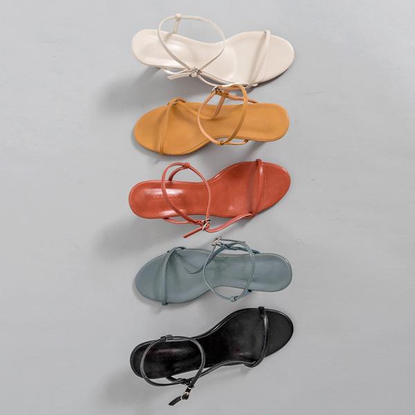 (SH-2784)Urban strip /束带凉鞋
