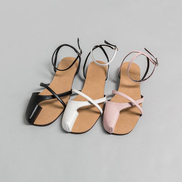 (SH-2785)Tabi strips /束带凉鞋