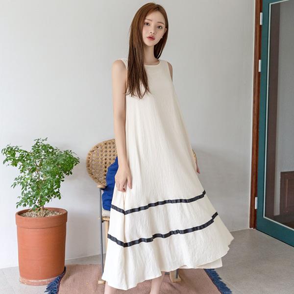 (N-OP-4702)线线条心/打底衫连衣裙