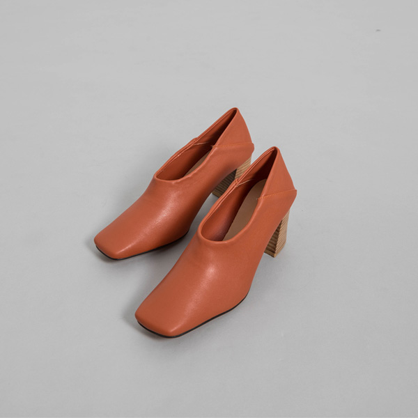 (SH-2835)木质称重浅口式鞋跟