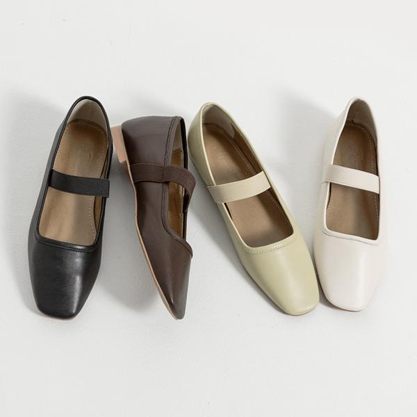 SH-2845松紧带Mary Jane平底鞋