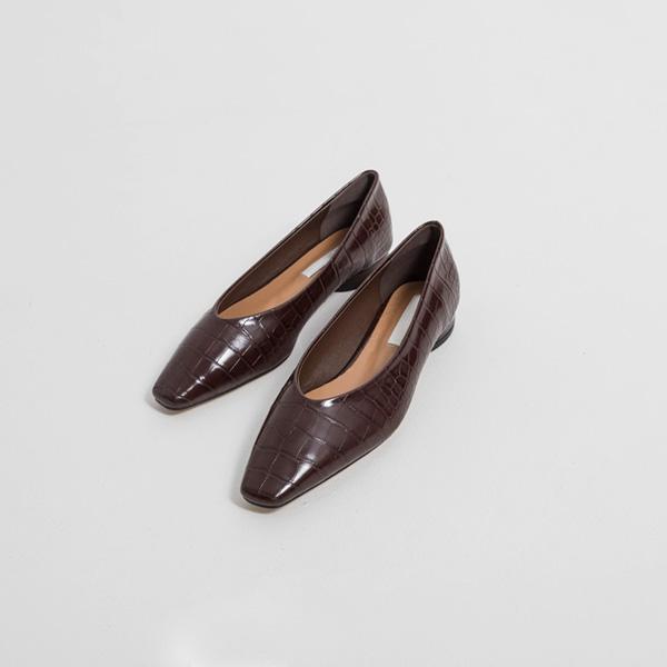 SH-2855鳄鱼形象现代平底鞋