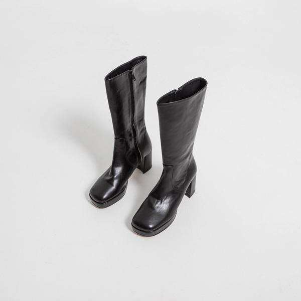 (SH-2857)中长厚底高跟鞋