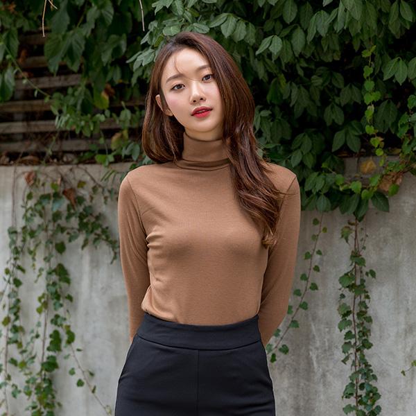 (NT-5062)柔丝丝毛基本的高龄T恤